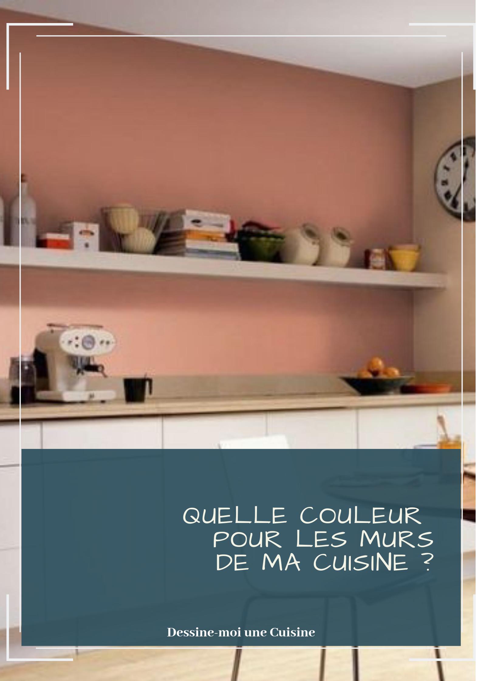 Quelle couleur pour les murs de cuisine ?