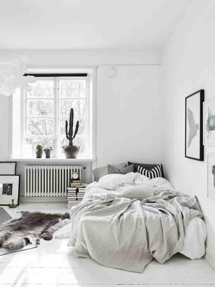 Comment décorer une chambre peinte en blanc ?