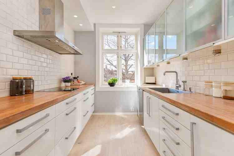 Quel plan de travail avec une cuisine blanche ?